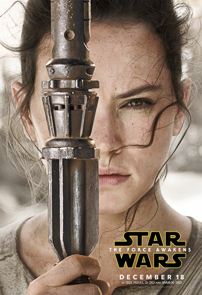 Star Wars Rey Close Up