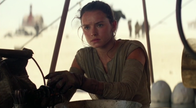 Star Wars Rey tech
