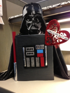 Darth Vader Heart Valentines Box