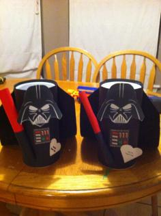 Darth Vader Valentine Containers