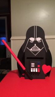 Darth Vader Valentines Day Box