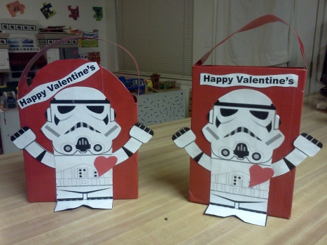 StormTrooper Valentines box