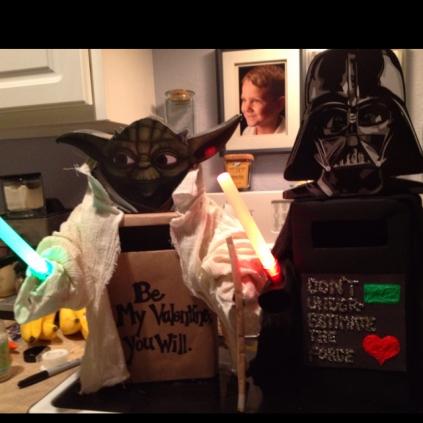 Yoda n Vader boxes