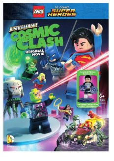 DC Lego Cosmic Clash movie