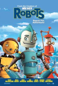Robots movie poster