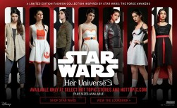 Star Wars Her Universe Hot Topic Line