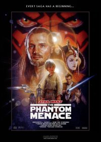 star wars the phantom menace movie poster