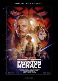 star wars the phantom menace movie poster