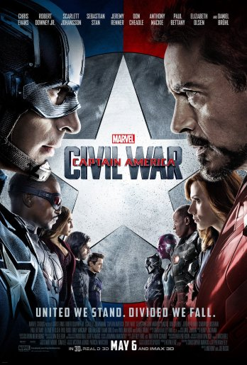 Captain America Civil War Group poster