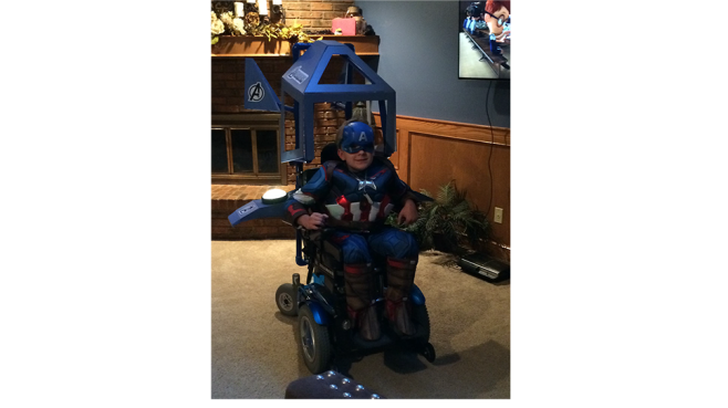WnR Captain America Costume