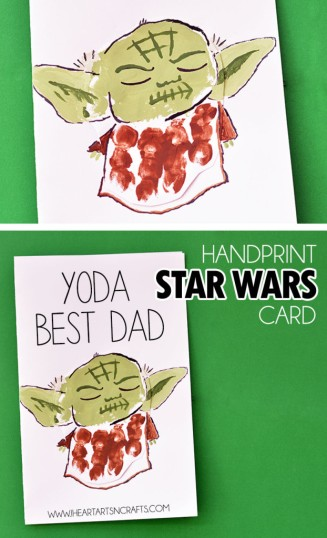 Yoda Fathers Day Craft