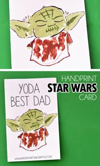 Yoda Fathers Day Craft