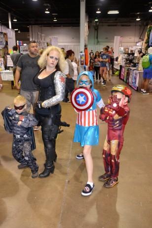 Comic Con 2015 Kids Group shot