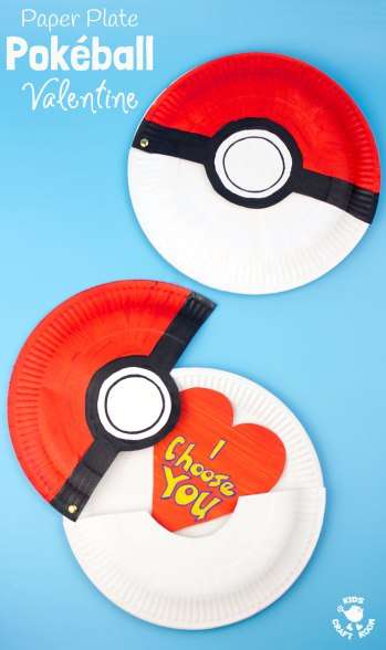 paper-plate-pokeball-craft-valentine-craft-pin