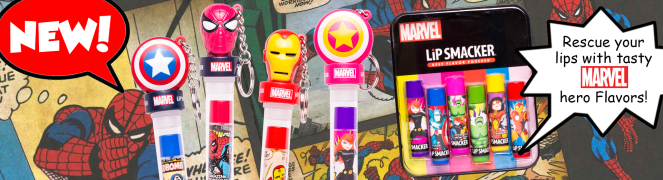 Lip Smackers Marvel Line