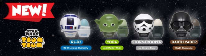Star Wars TSUM TSUM Lip Smackers