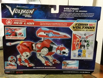 Voltron Red Lion box