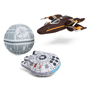 Think Geek Star Wars vehicle_plush