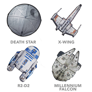 Think Geek star_wars_kites_grid