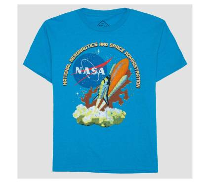 NASA Shuttle Blast-Off shirt