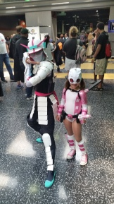 Spider Gwen Samurai with Gwenpool